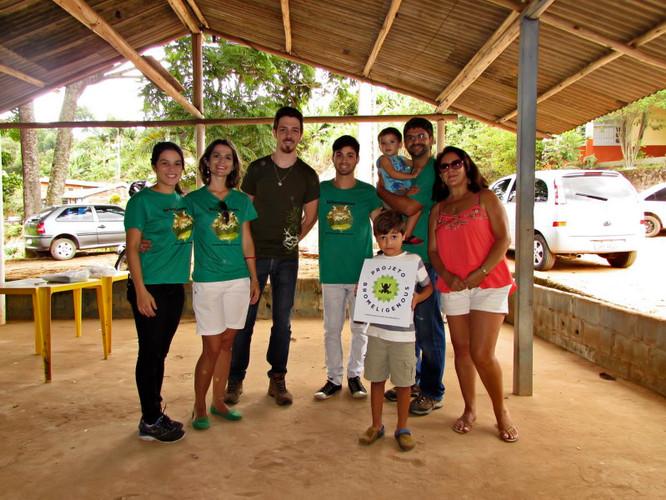 Feira de ciência em Alto Santo Antônio, Santa Teresa, ES