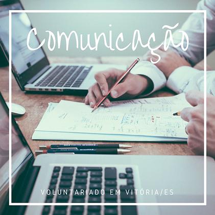 Voluntariado Comunicação