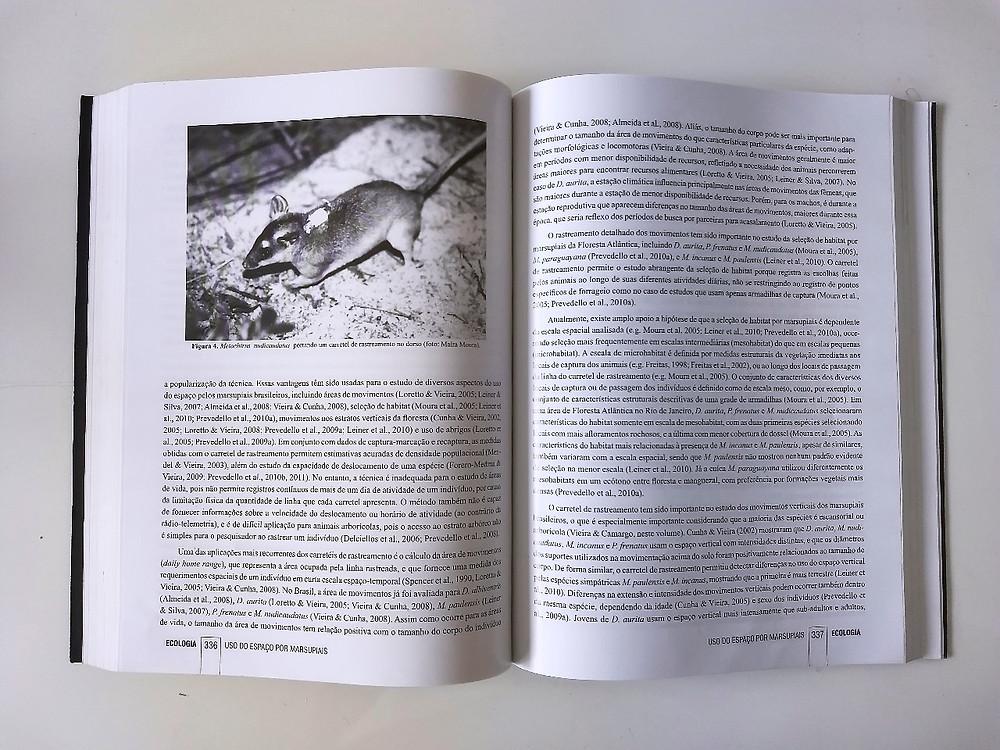 Livro: Os Marsupiais do Brasil: Biologia, Ecologia e Conservação.