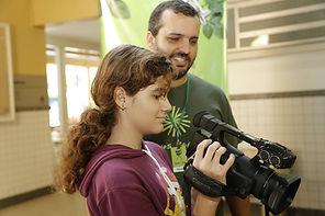Video workshop for students
