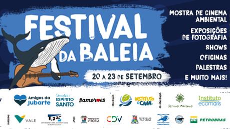 Venha participar do Festival da Baleia 2018 em Vitória-ES!