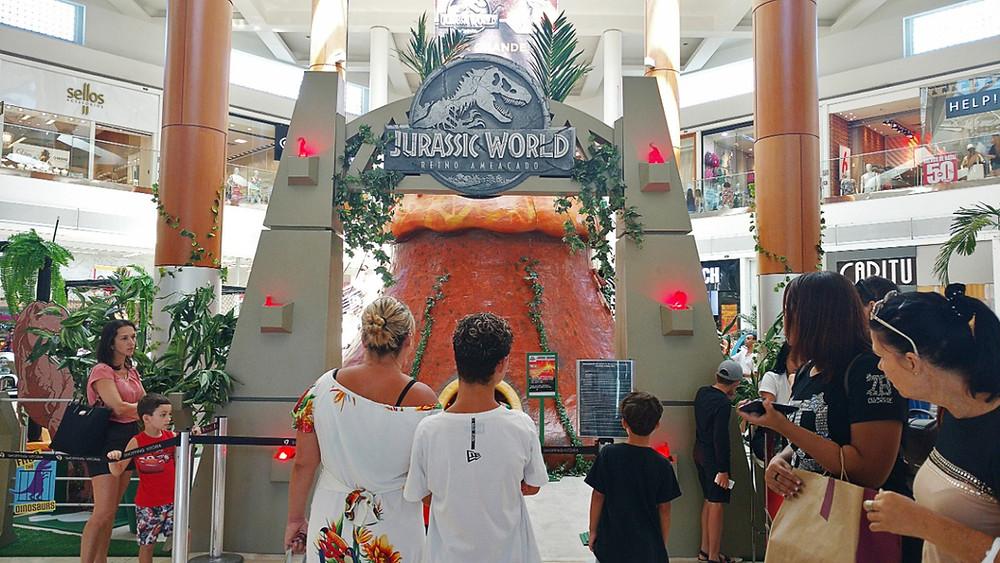 Entrada do Parque temático Jurassic World - Foto: Lais Pimente