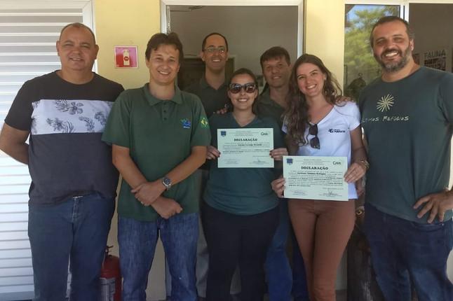 IBAMA/ES Homenageia Instituto Últimos Refúgios, Projeto Marsupiais e outros Parceiros do CETAS/ES.