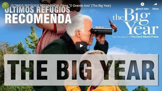 """ÚLTIMOS REFÚGIOS RECOMENDA: Filme """"O Grande Ano"""" (The Big Year)"""