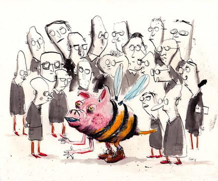 Wissenschaftler klonen Schweinebiene