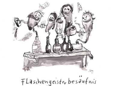 Flaschengeisterbesäufnis