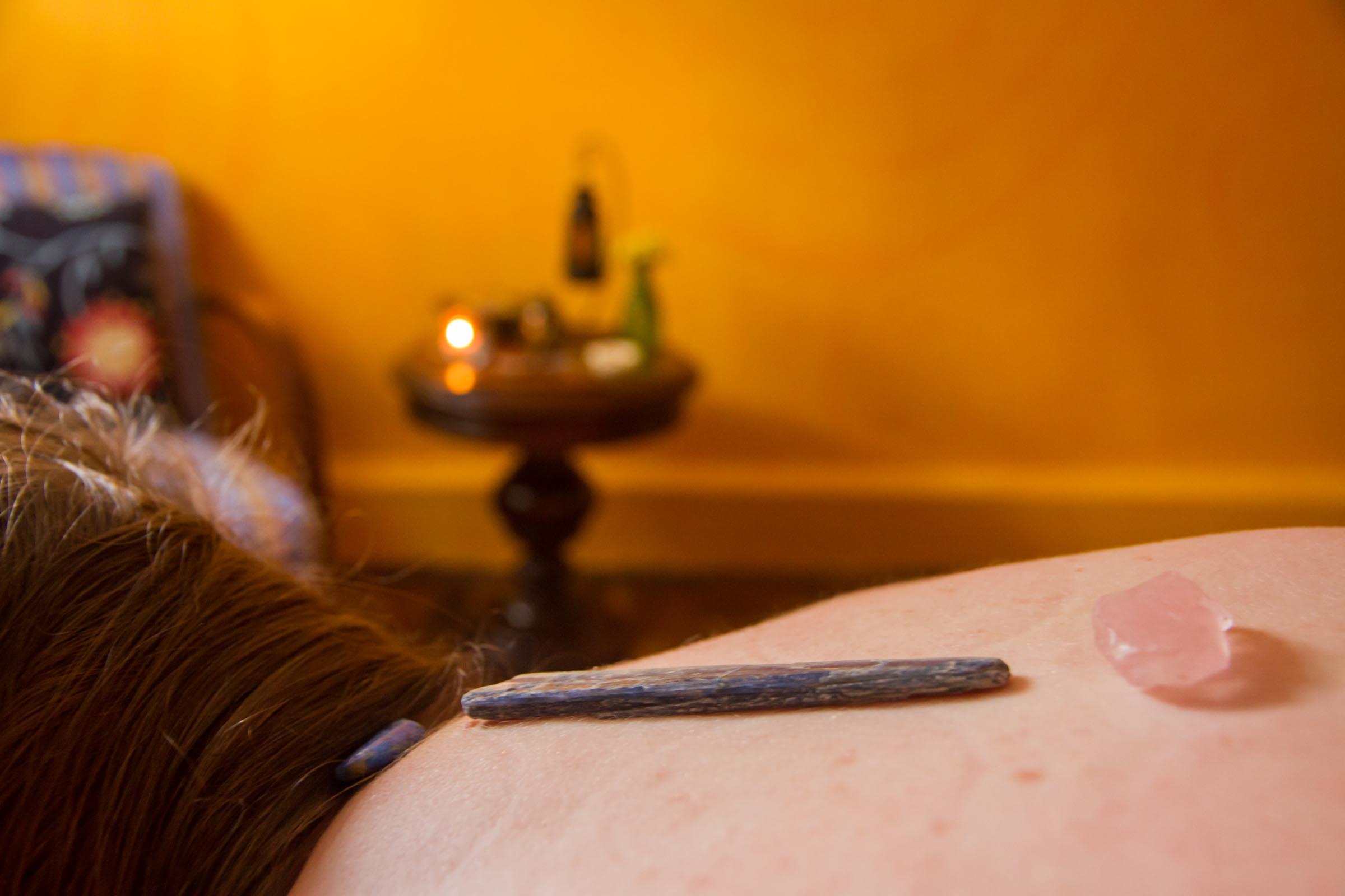 Terapia com cristais