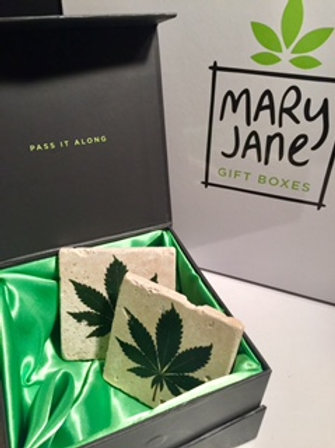 Cannabis Leaf Coaster