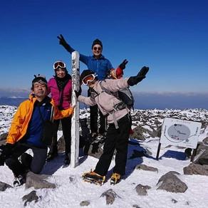 個人山行 入笠山(1,955m)&蓼科山(2,530m)/長野県