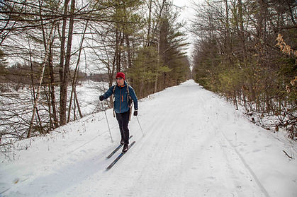 Northern Ral Trail Cross Contry Skier