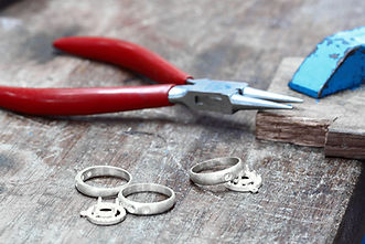 Tools used for jewelry making