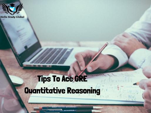 Tips to ace GRE Quantitative Reasoning Section