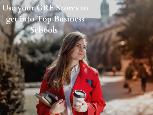 Use your GRE score to get into Top Business Schools in India