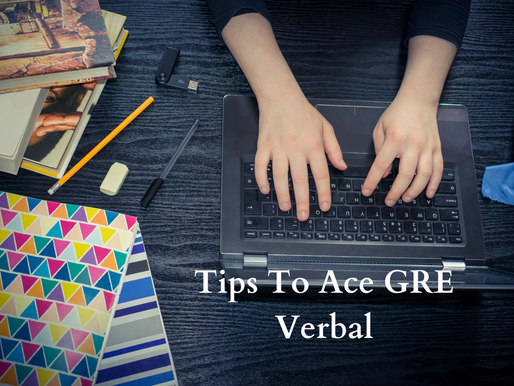 TIPS TO ACE GRE VERBAL REASONING