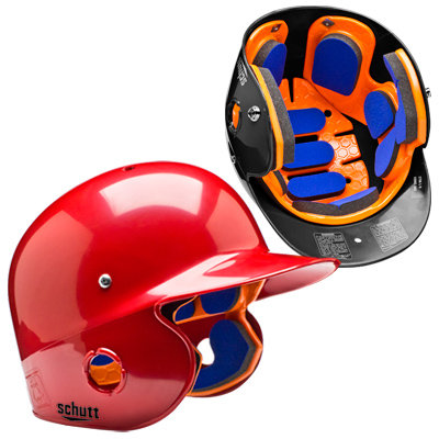 Schutt Air-Pro 5.6 Baseball Helmet - Matte Scarlet