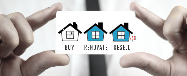 Buy- Sell-Renovate with insource funding