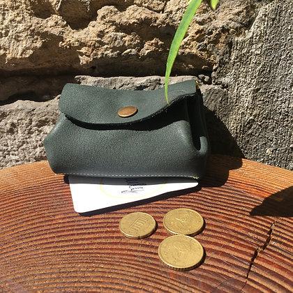 Porte monnaie bourse kaki