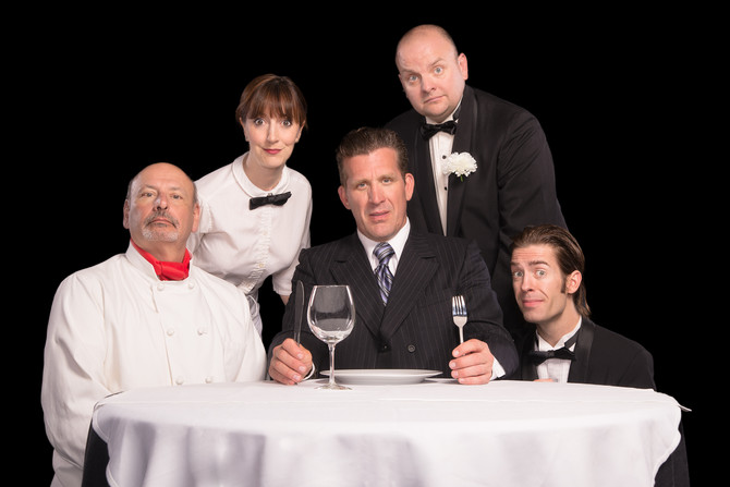 An Empty Plate at the Cafe de Grand Boeuf - Freefall Theater