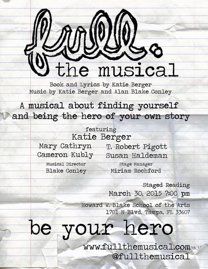 BWW Review: Katie Berger's FULL: THE MUSICAL at the Shimberg Playhouse