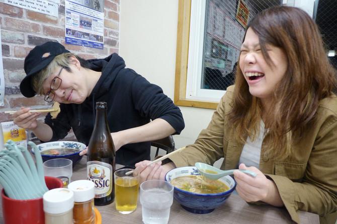 釧路出身ミュージシャン、スピカペラさんがご来店!