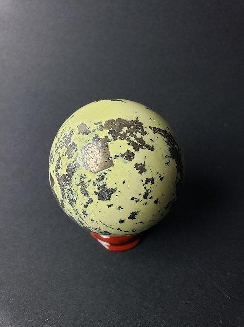Serpentine Jade aka Healerite Sphere