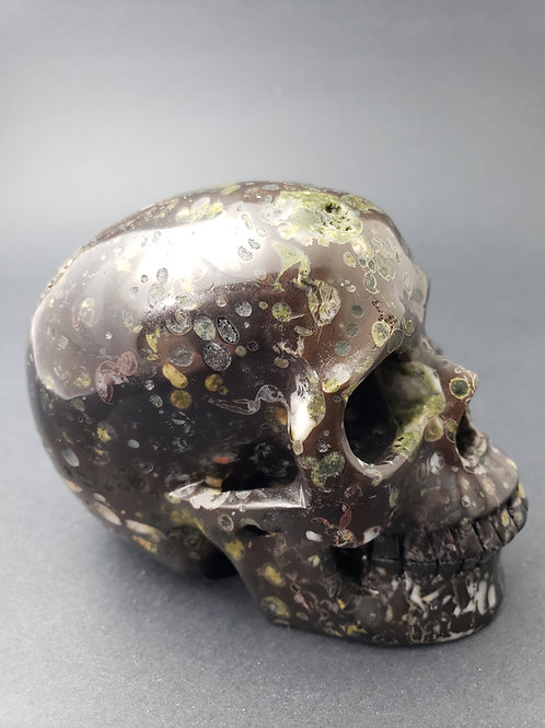 Plummite Skull