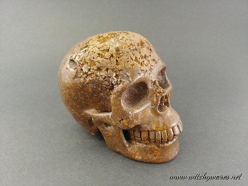 Coffee Opal Skull