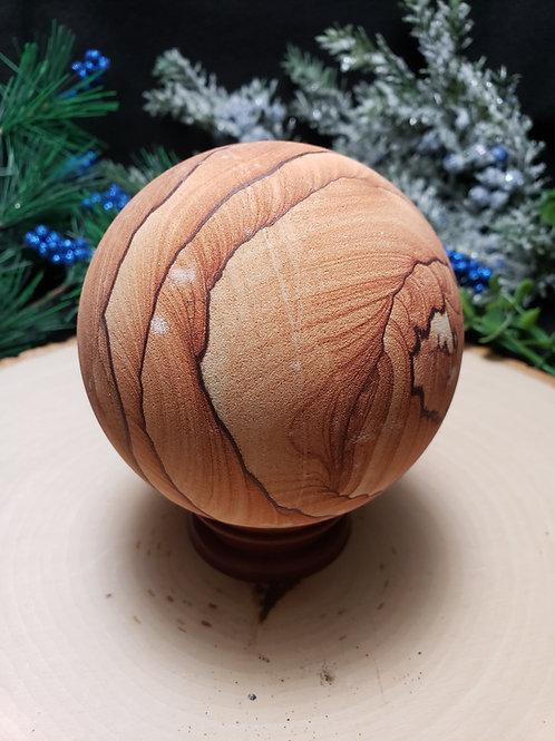 Arizona Sandstone Sphere