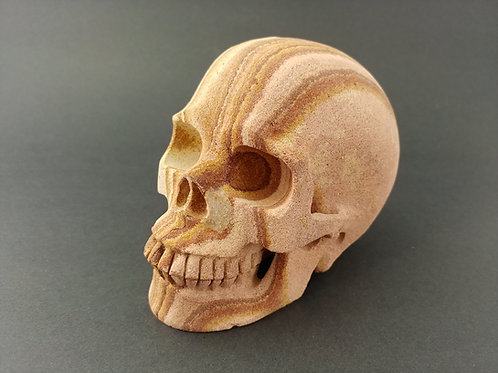 Arizona Sandstone Skull