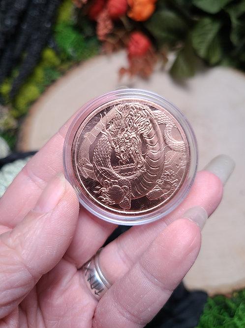 Copper Dragon Coin