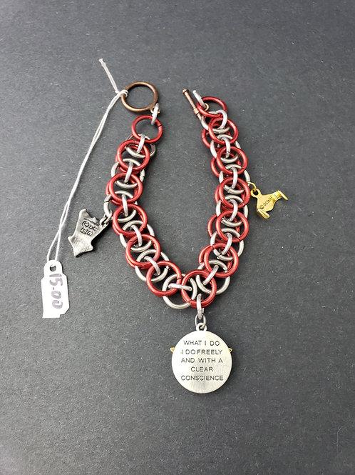 Chain Mail Wonder Woman Bracelet