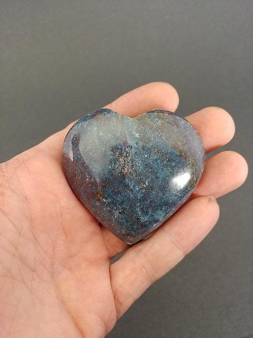 Ruby in Kyanite Heart
