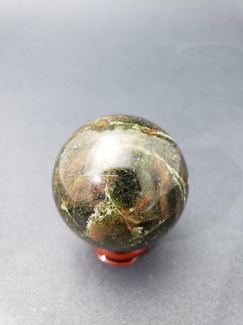 Green Apatite Sphere