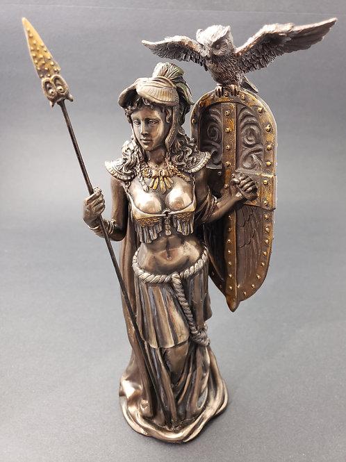 Bronze Athena Statue