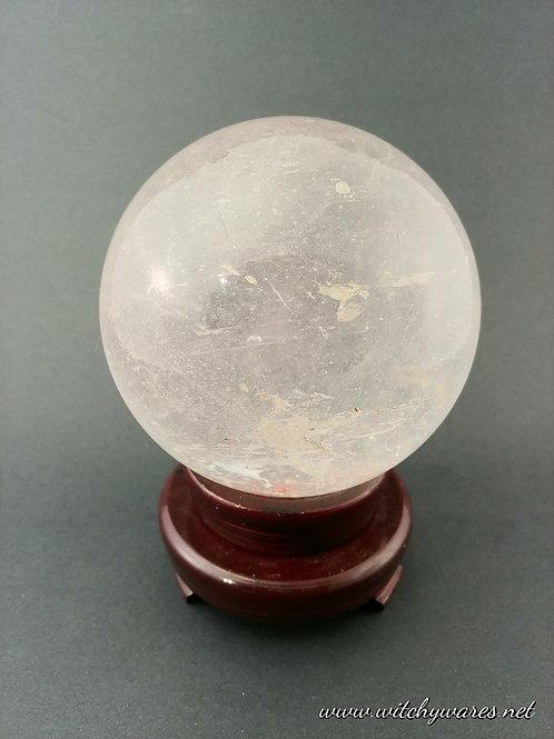 Quartz Enhydro Sphere