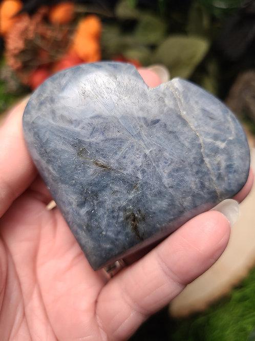 Blue Kyanite Heart