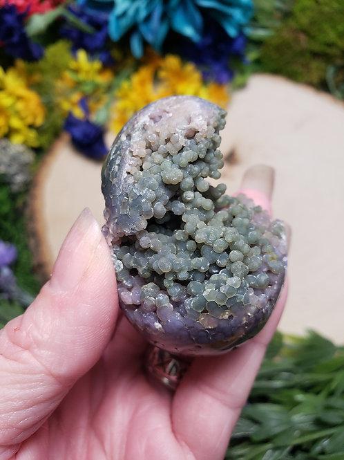 Grape Agate Egg