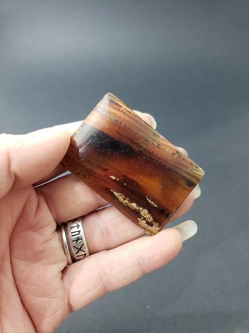 Polished Amber Pendant