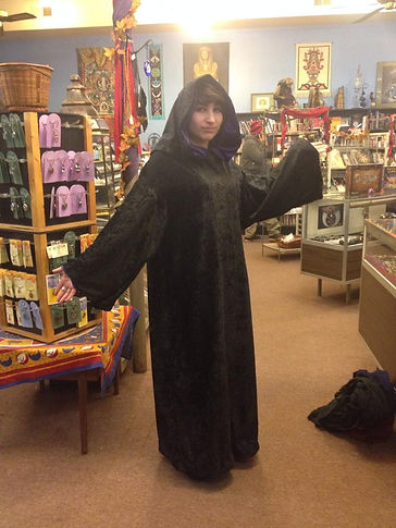 cerimonial ritual robe