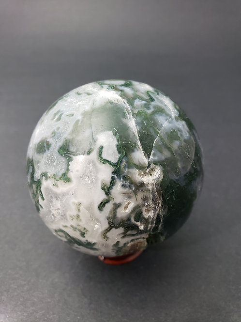 Moss Agate Sphere
