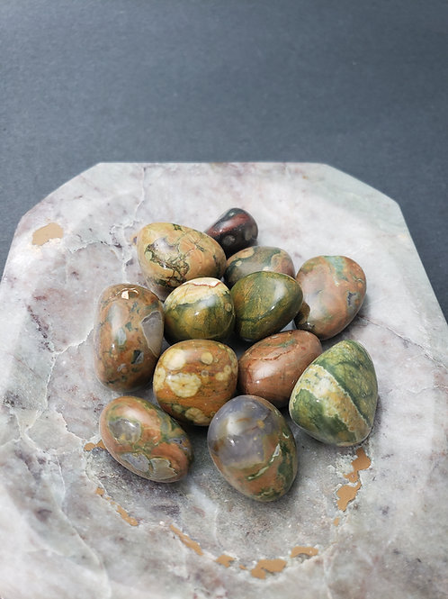 Rainforest Jasper Tumble