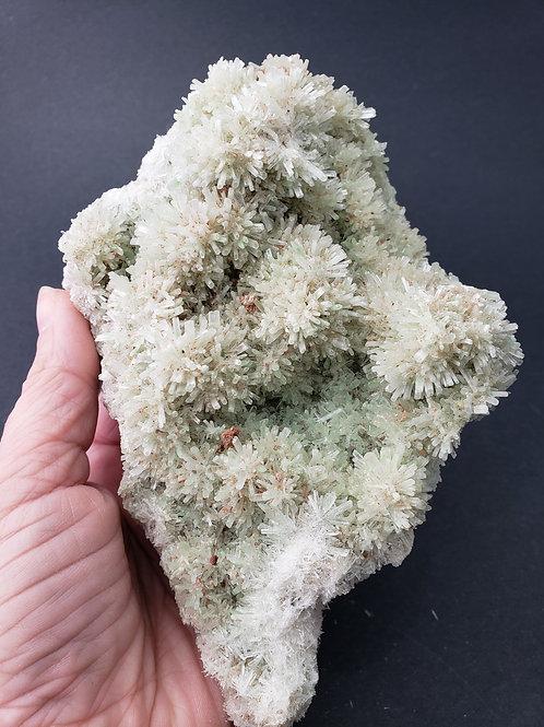 Natural Green Selenite Cluster