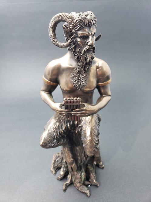 Bronze Pan Statue