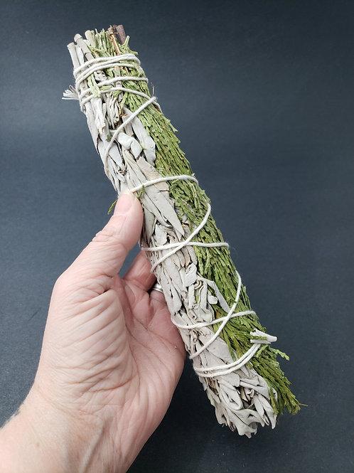 Cedar & White Sage Smudge Bundle