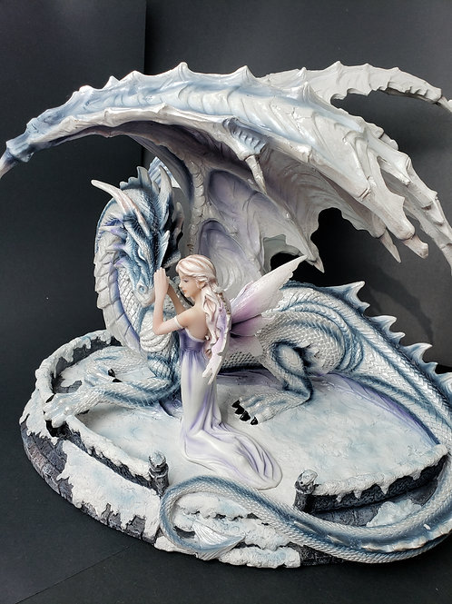 Dragon and Fairy Statue
