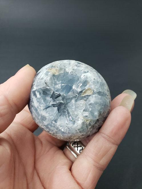 Blue Celestite Sphere