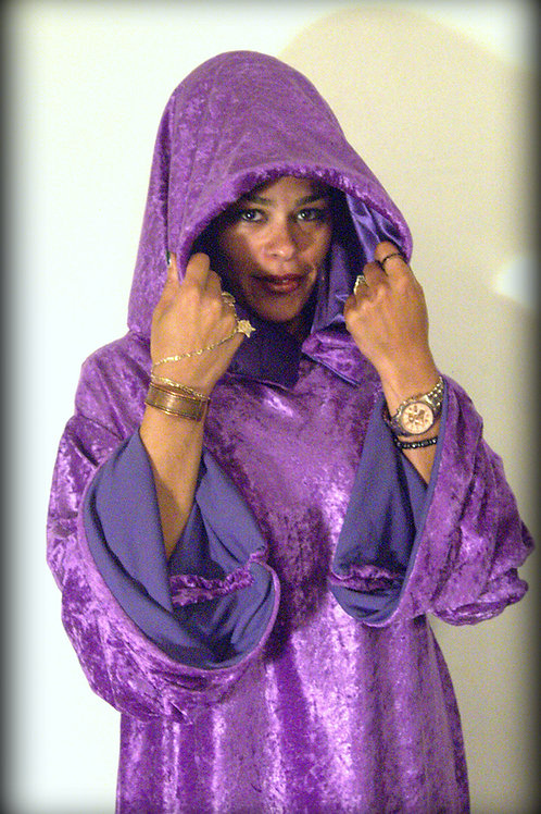 Purple Goddess Robe