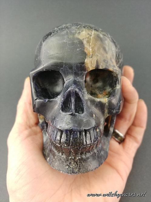 Iolite Skull