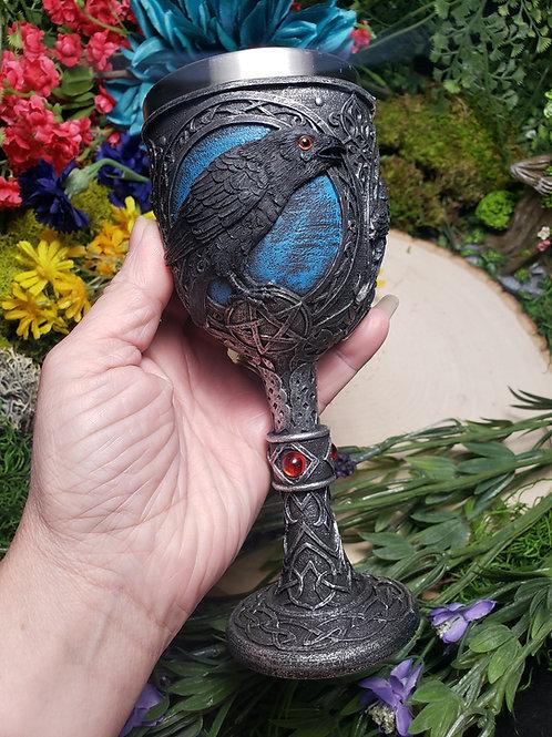 Raven Goblet
