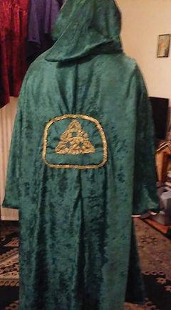 cerimonial ritual cloak robe